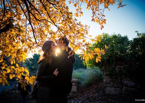 Séance photo en couple à Lyon, à Aix en Provence
