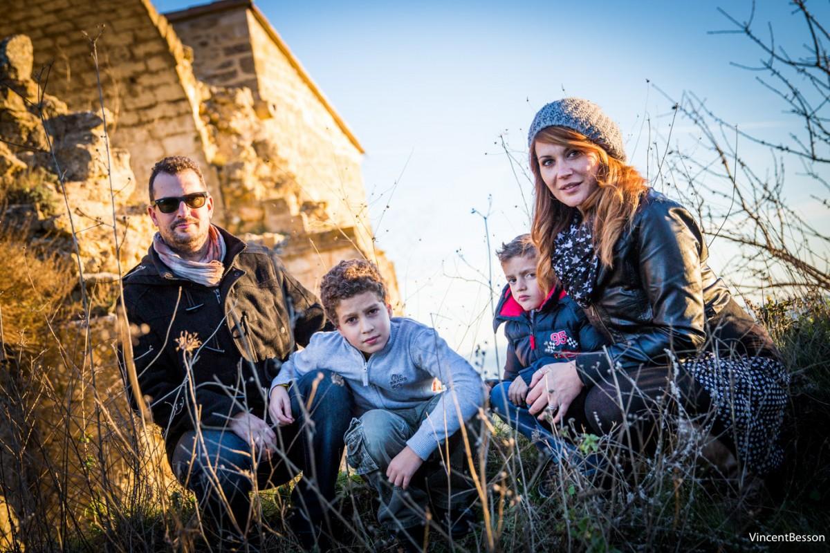 Séance photo en famille à Lyon, à Aix en Provence